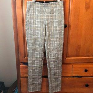 NWT H & M plaid men's wear style pants
